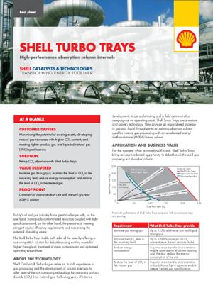 Shell Turbo Trays